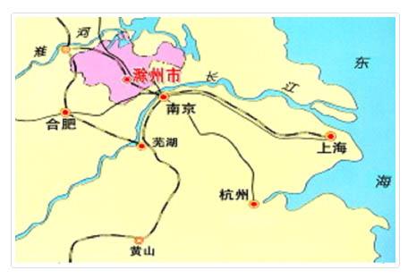 """—滁州市,与著名的琅琊山风景区和""""天下第一名亭&#8221"""